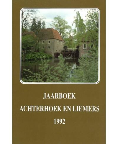 Jaarboek Achterhoek en Liemers 1992